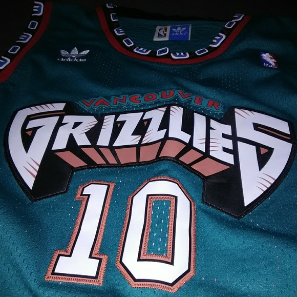 b70523ba2 adidas Other - Vancouver Grizzlies Mike Bibby Jersey
